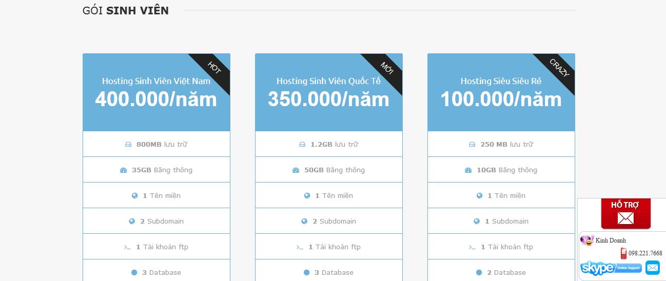 Baobinh.net - web hosting provider