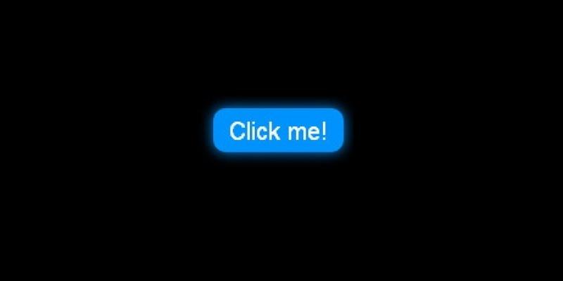 Tạo một nút button tự phát sáng trên website chỉ cần dùng CSS 3
