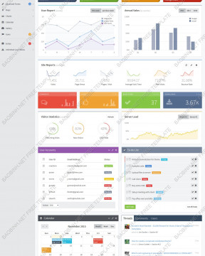 Download giao diện admin template Avant Bootstrap thiết kế responsive