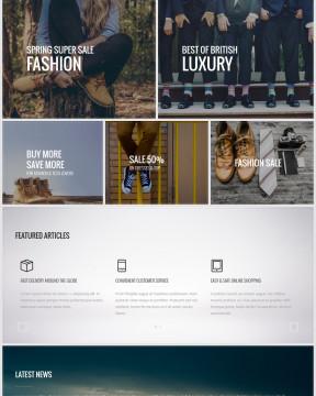 Giao diện Berg nhiều mục đích sử dụng - thiết kế full screen
