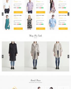 Canifa - Giao diện bán hàng thời trang