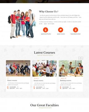 Educampus - Giao diện quảng cáo khóa học trực tuyến