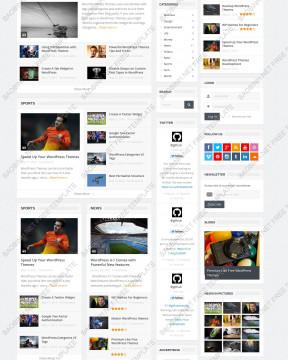 Download giao diện wordpress theme Goodnews thiết kế responsive