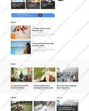 Giao diện website tin tức High Criteria thiết kế responsive