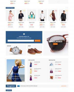 Giao diện bán hàng inspire - fashion
