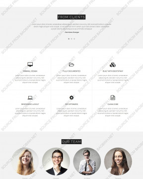Download giao diện website nội thất Interior Larx thiết kế responsive