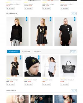 Orianna - Giao diện shop bán hàng