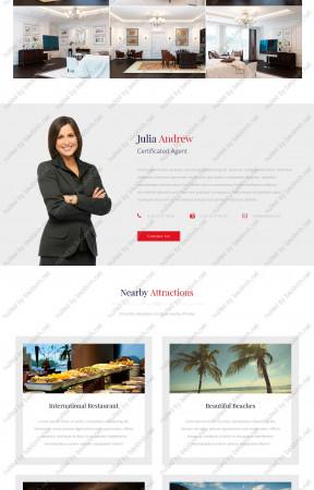 Download giao diện website nội - ngoại thất Puna thiết kế responsive