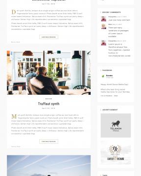 Revex - Giao diện blog cá nhân