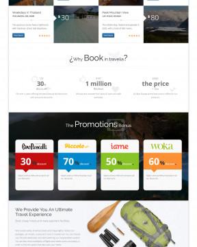 Travelia - Giao diện website du lịch đẹp không thể bỏ qua
